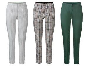 ESMARA® Stoffhose Damen, mit Bügelfalte, mit Baumwolle