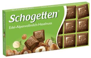 Schogetten Edel-Alpenvollmilch-Haselnuss 100 g