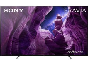 SONY KD-55A85,  OLED TV, Schwarz