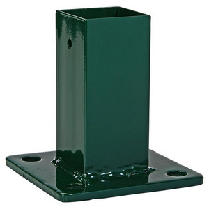 Aufschraubhülse für Pfosten grün 10 x 10 x 10,5 cm