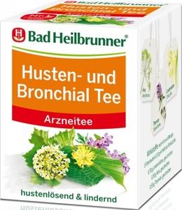 Bad Heilbrunner Husten- und Bronchialtee 8x2g