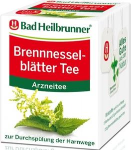 Bad Heilbrunner Brennnesselblätter Tee 8x 2 g