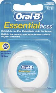 Oral-B Zahnseide Essential Floss ungewachst 50m