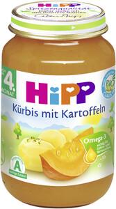 Hipp Bio Kürbis mit Kartoffeln nach dem 4. Monat 190 g