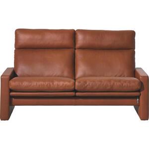 Erpo Zweisitzer-sofa echtleder braun , Manhattan , Leder , 2-Sitzer , 160x97x95 cm , naturbelassen , Lederauswahl, Stoffauswahl, Relaxfunktion, Hocker erhältlich, Rücken echt , 000254007516