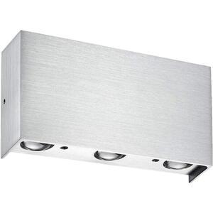 XXXLutz Led-wandleuchte , 40088/6-05 Stream , Metall , 17x9 cm , 007473000701