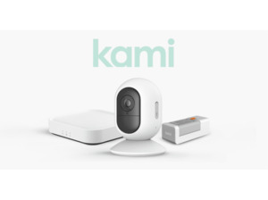 YI TECHNOLOGY Kami Wire-Free Camera Starter Kit, Auflösung Video: 1080p, Weiß