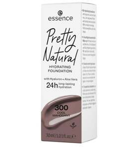 essence Pretty Natural hydrating foundation 300 Cool Mahogany