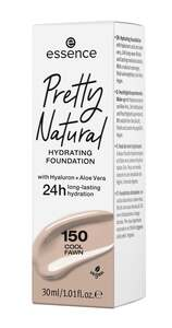 essence Pretty Natural hydrating foundation 150 Cool Fawn