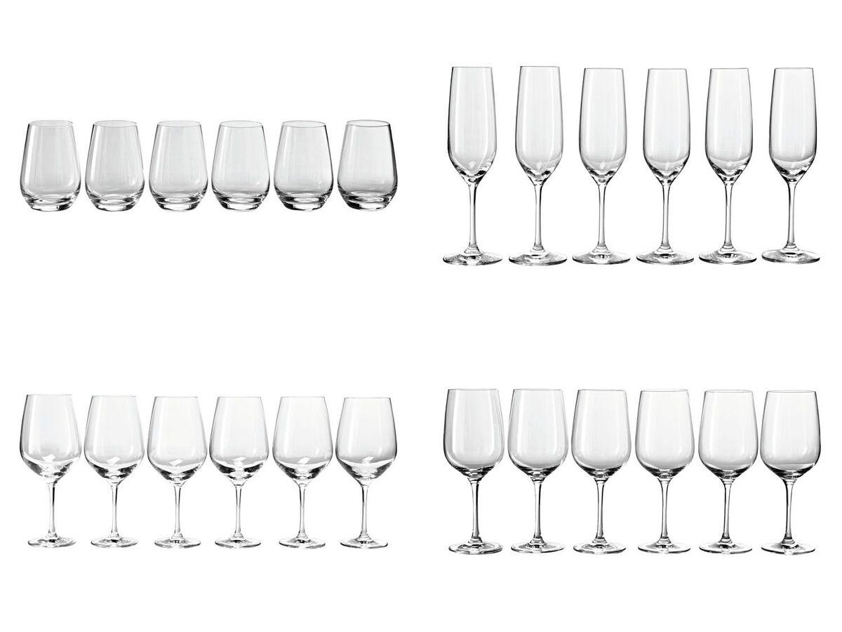 Bild 1 von ERNESTO® Gläser, 6 Stück, aus Kristallglas