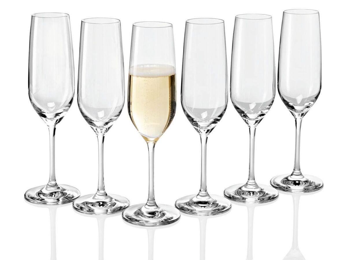 Bild 5 von ERNESTO® Gläser, 6 Stück, aus Kristallglas