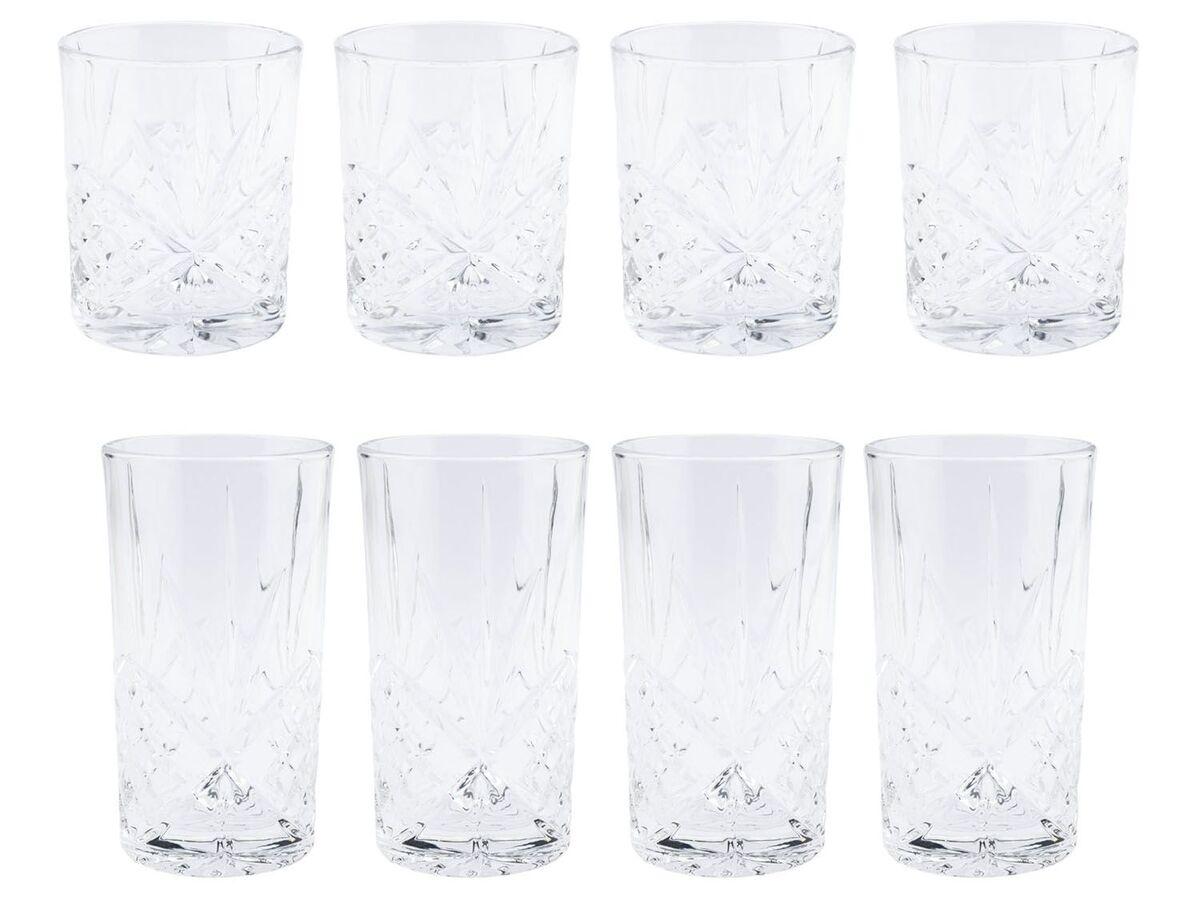Bild 1 von ERNESTO® Longdrink-Glas/ Gin-Whiskey-Wasser Glas, 4er