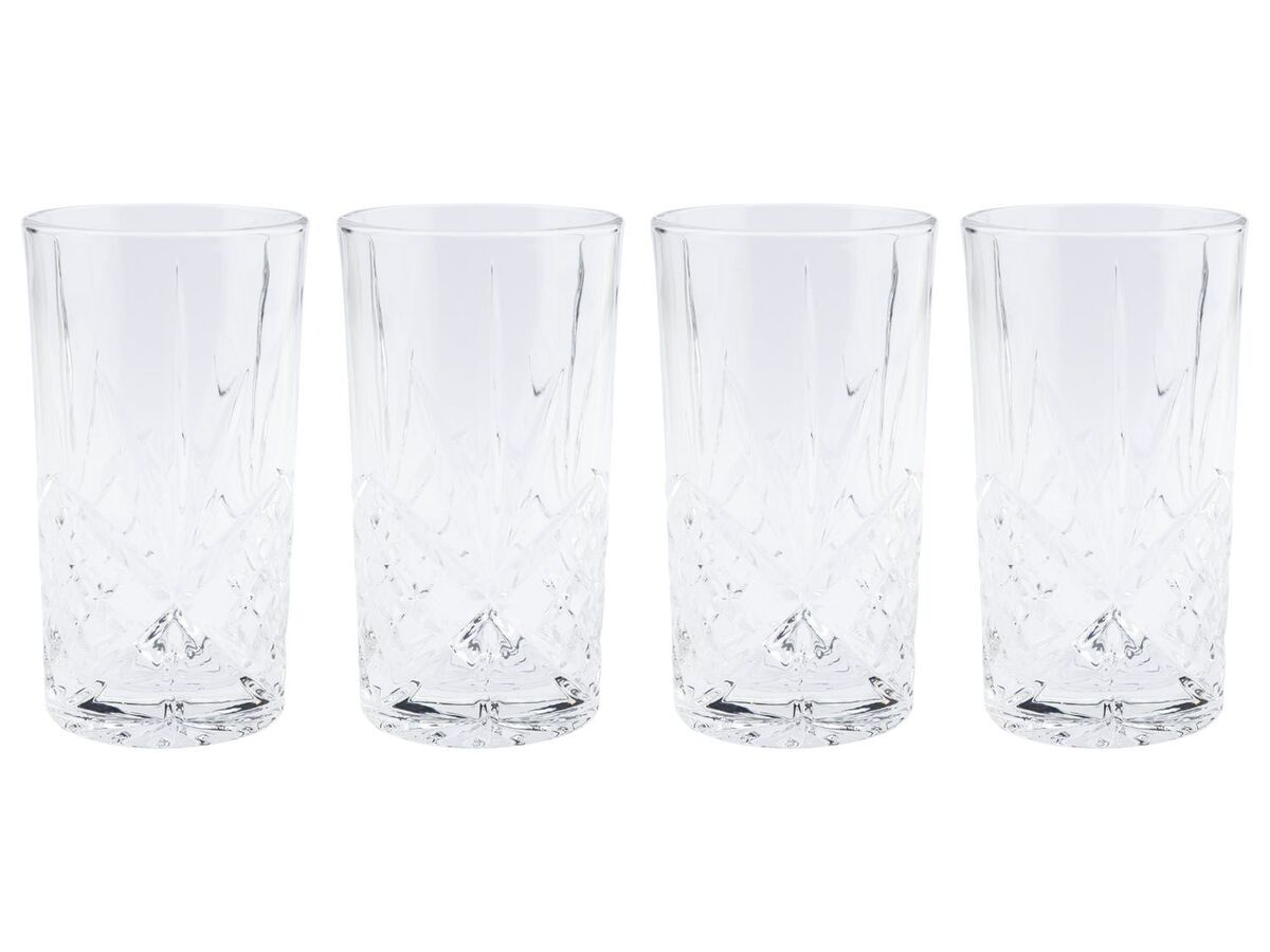Bild 2 von ERNESTO® Longdrink-Glas/ Gin-Whiskey-Wasser Glas, 4er