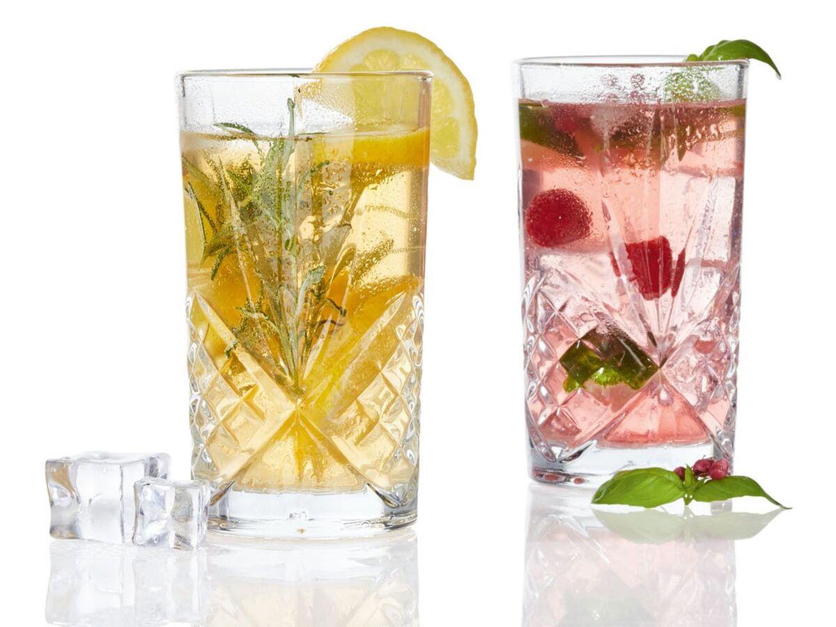 Bild 5 von ERNESTO® Longdrink-Glas/ Gin-Whiskey-Wasser Glas, 4er