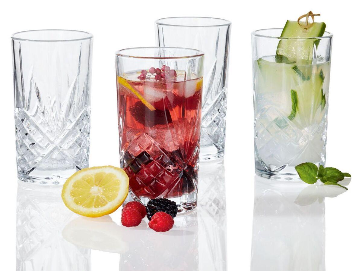 Bild 6 von ERNESTO® Longdrink-Glas/ Gin-Whiskey-Wasser Glas, 4er