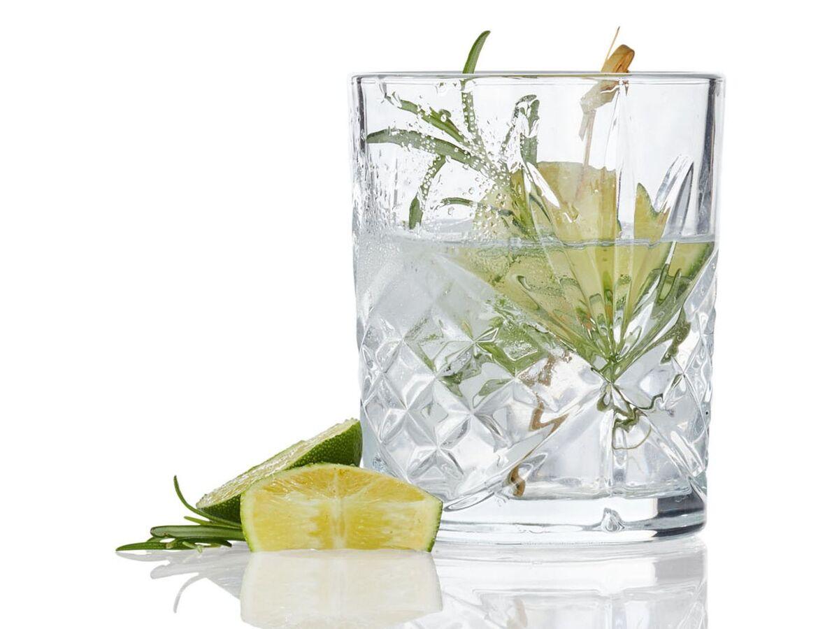 Bild 9 von ERNESTO® Longdrink-Glas/ Gin-Whiskey-Wasser Glas, 4er