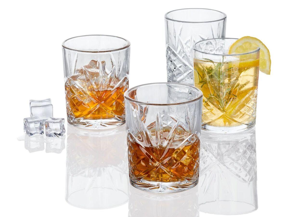 Bild 10 von ERNESTO® Longdrink-Glas/ Gin-Whiskey-Wasser Glas, 4er
