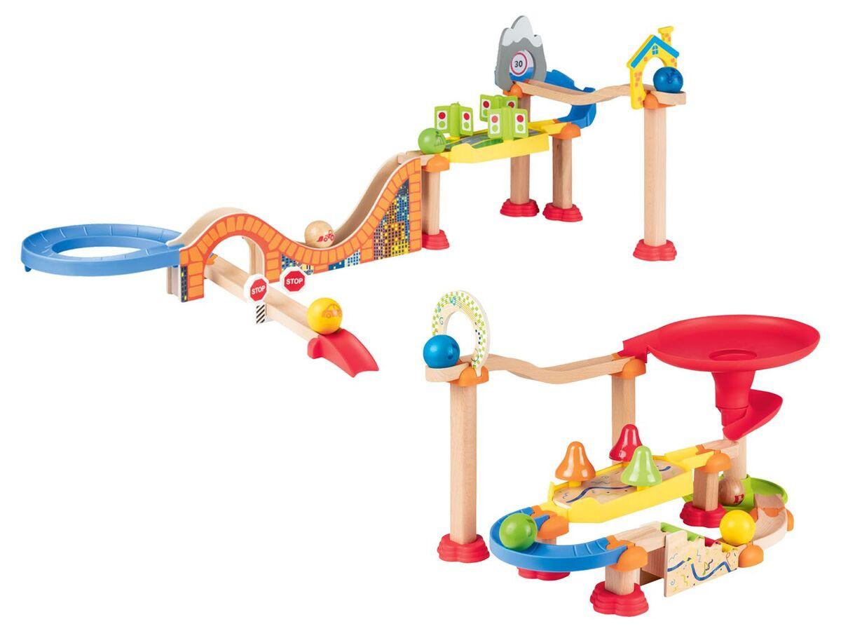 Bild 1 von PLAYTIVE® Holzkugelbahn, aus Buchenholz, ab 1,5 Jahren