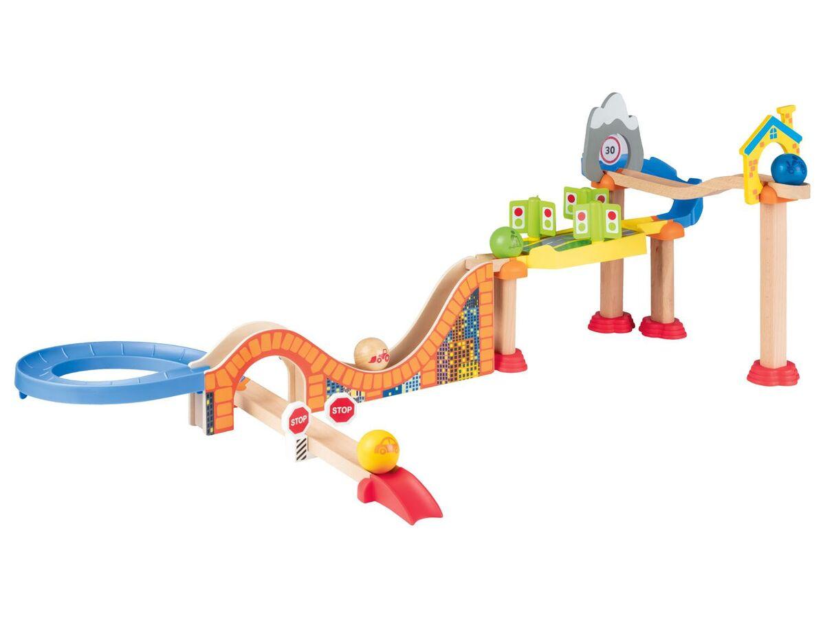 Bild 5 von PLAYTIVE® Holzkugelbahn, aus Buchenholz, ab 1,5 Jahren