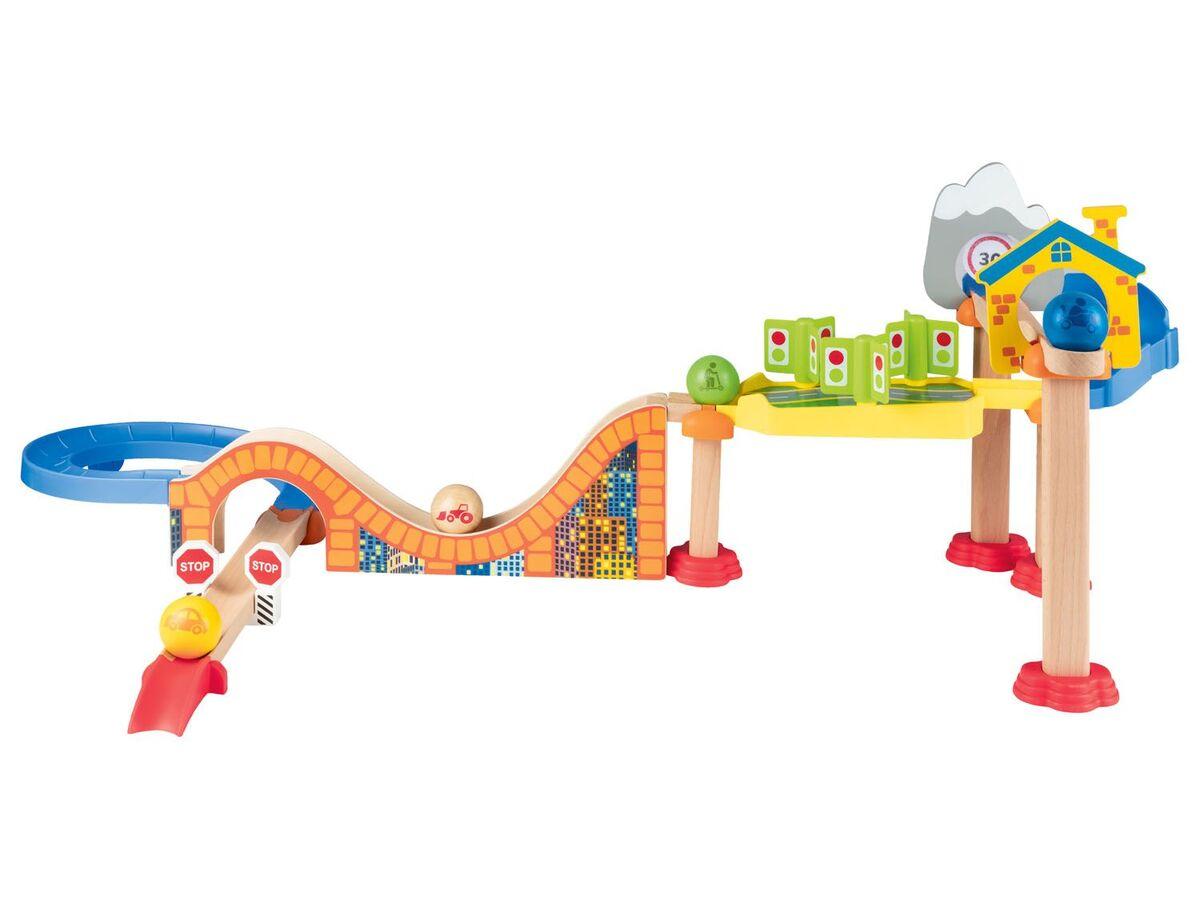 Bild 6 von PLAYTIVE® Holzkugelbahn, aus Buchenholz, ab 1,5 Jahren