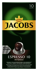 Jacobs Espresso Kapseln 10 Intenso 10ST 52g