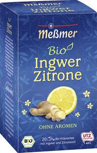 Meßmer Bio Tee Ingwer Zitrone 20x 2 g