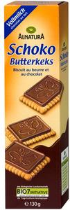 Alnatura Bio Schoko Butterkeks mit Vollmilchschokolade 130G