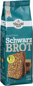Bauckhof Bio glutenfreies Schwarzbrot Backmischung 500g