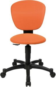 Drehstuhl Sitness Quarter Ball Junior, braun orange