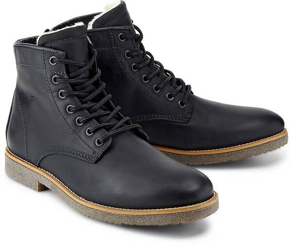 Another A, Schnür-Boots in schwarz, Boots für Herren