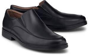 Clarks, Slipper Un Aldric Walk in schwarz, Slipper für Herren