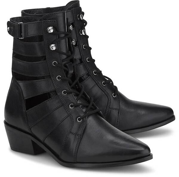 Another A, Cut-Out-Stiefelette in schwarz, Stiefeletten für Damen