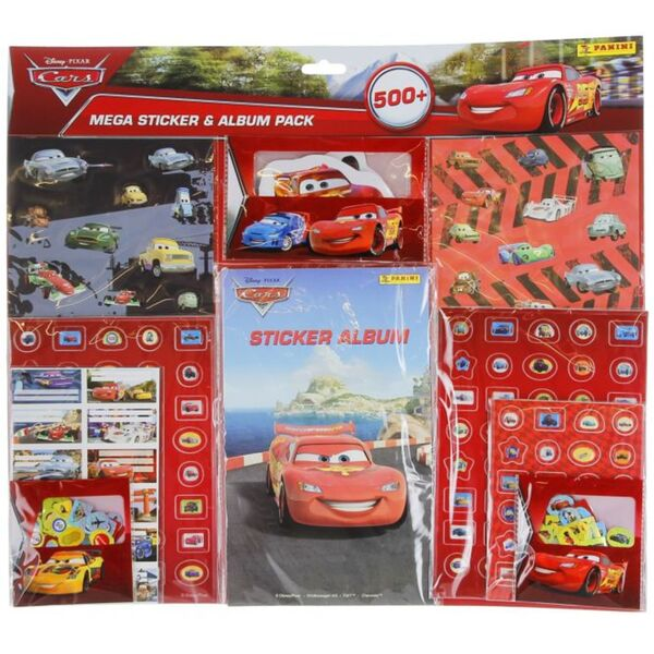 Disney Cars - Mega Sticker Pack mit Album