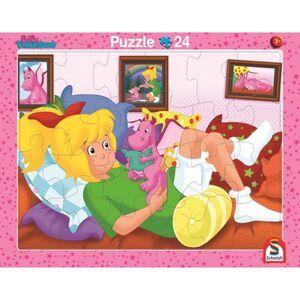 Rahmenpuzzle - Bibi Blocksberg - Freunde - 2er Set