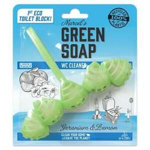 Marcel's Green Soap Toilettenblock Geranie & Zitrone