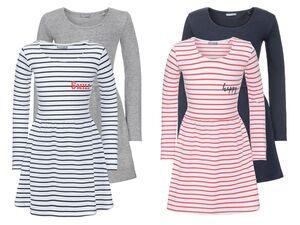 PEPPERTS® Kinder Kleid Mädchen, 2 Stück, mit Baumwolle