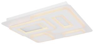 LED-DECKENLEUCHTE BAFUR L: 50 CM WEISS Deckenlampe