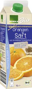 Edeka Bio Orangen Saft 1 ltr