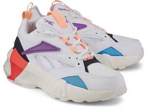 Reebok Classic, Sneaker Aztrek Double Nu Pops in weiß, Sneaker für Damen