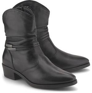 Tamaris, Western-Stiefelette in schwarz, Boots für Damen