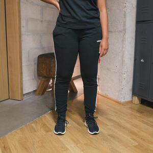 ADIDAS Jogginghose mit 3 Streifen Damen schwarz