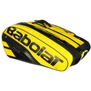 Tennistasche Babolat RH Pure Aero für 12 Schläger gelb/schwarz