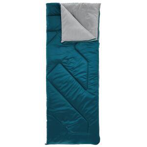 Schlafsack Camping Arpenaz 10°C dunkelblau