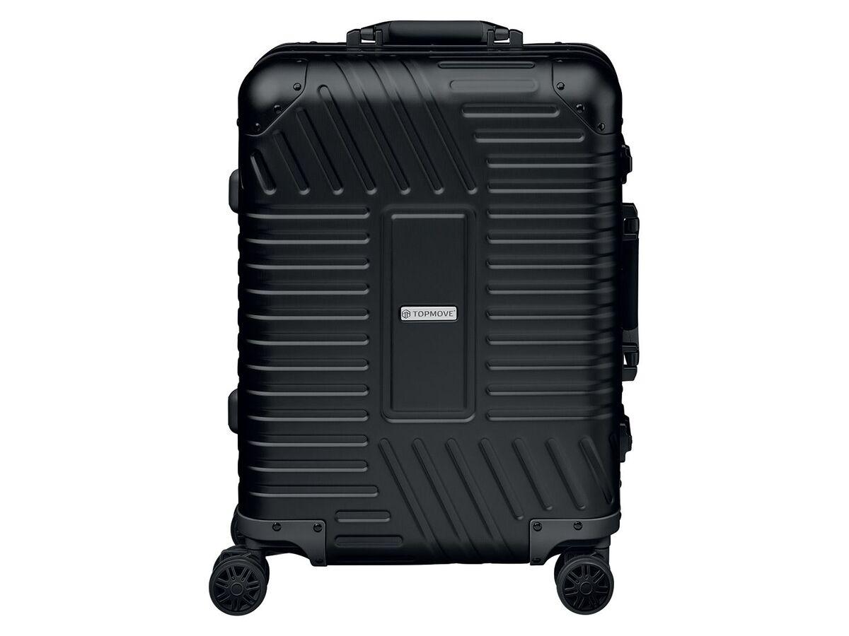 Bild 1 von TOPMOVE® Aluminium Koffer 32l, schwarz