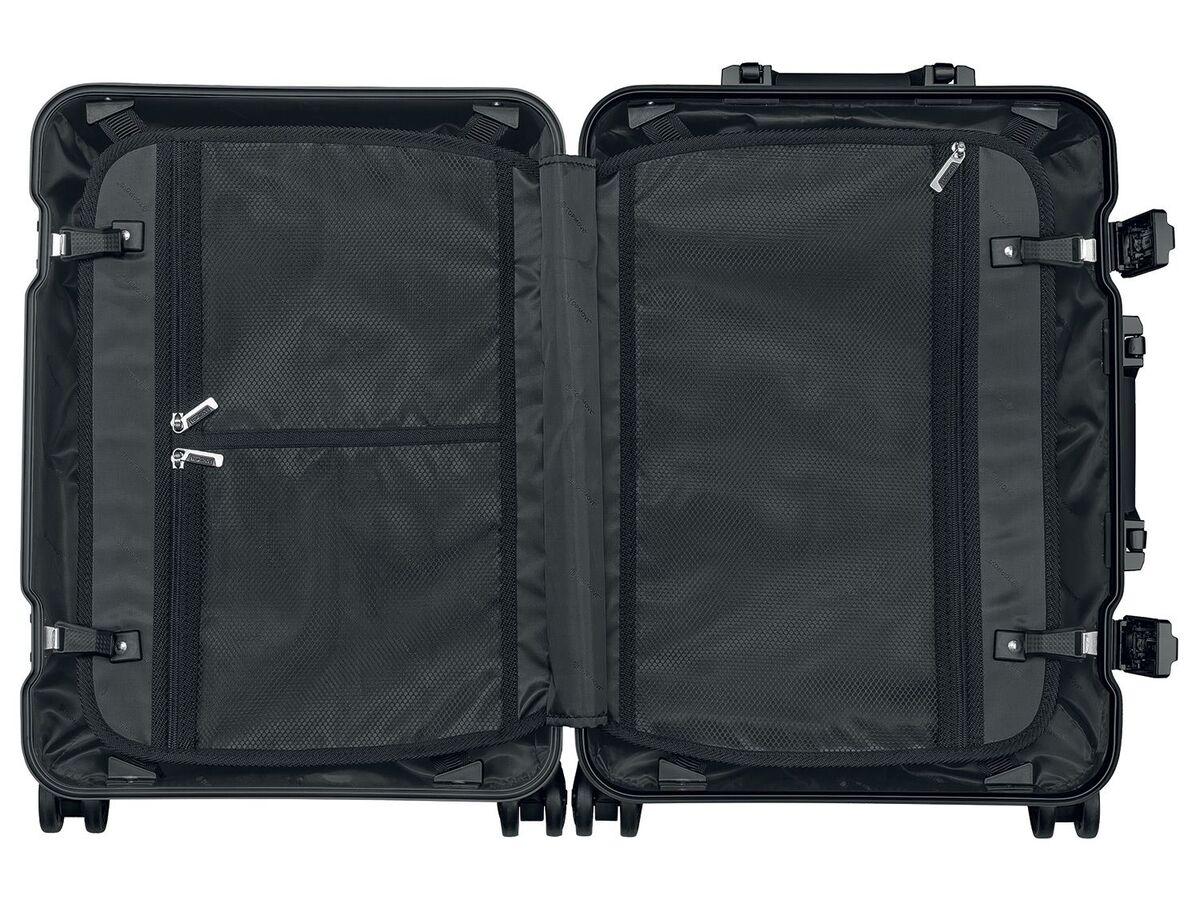 Bild 2 von TOPMOVE® Aluminium Koffer 32l, schwarz