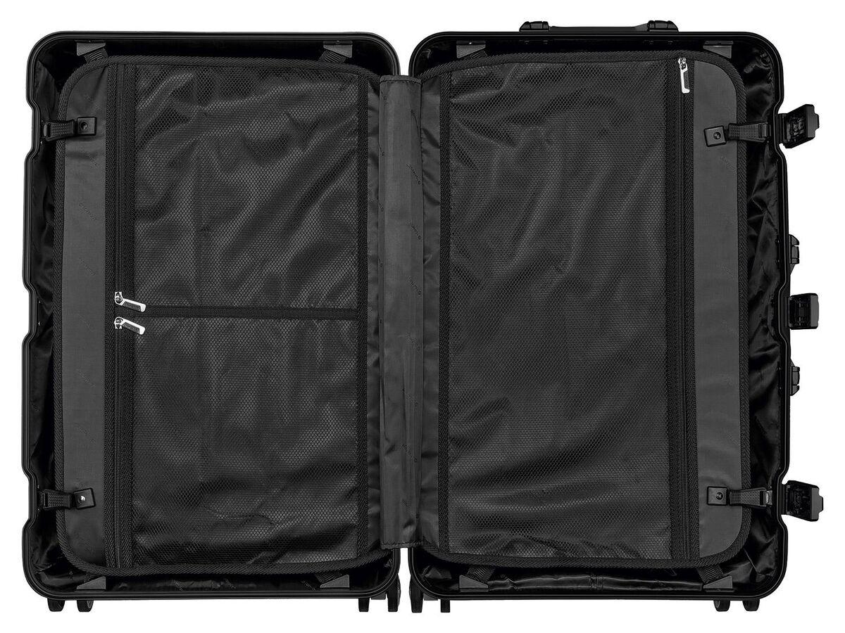 Bild 4 von TOPMOVE® Aluminium Koffer 68l, schwarz