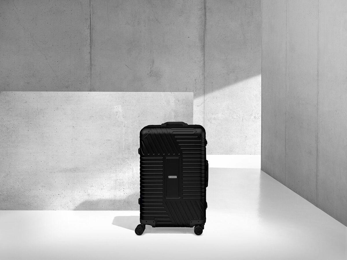 Bild 8 von TOPMOVE® Aluminium Koffer 68l, schwarz