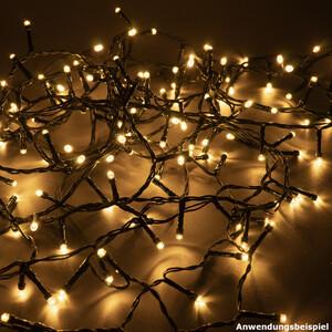 Cluster-Lichterkette mit 700 LED warmweiß