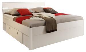 Bett in Weiß 'Mars 140x200'