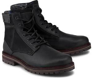 COX, Winter-Boots in schwarz, Boots für Herren